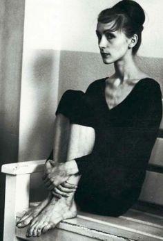 La jeune Pina Bausch. Photo datée de 1958 ou 1959. Elle n'avait pas encore vingt ans (Photo Archives NRZ).