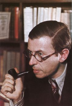 Jean-Paul Sartre | by Old Chum