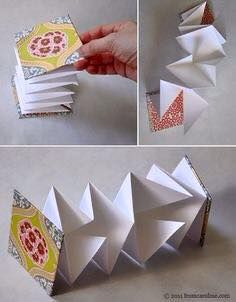 Art Teacher: Laura Larson. Origami accordion book. Even though they are so ready…