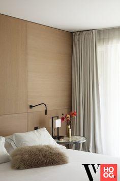 Karaktervolle villa in groene rand rond Antwerpen - Hoog ■ Exclusieve woon- en tuin inspiratie. Interior Lighting, Luxury Interior, Interior Architecture, Bedroom Inspo, New Builds, Home Look, Villa, Curtains, House