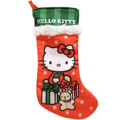 Hello Kitty Christmas Stocking 16in