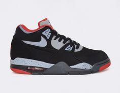 #Nike Air Flight 89 Black/Red #sneakers