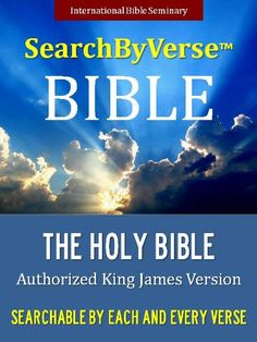 SearchByVerseTM Bible (KING JAMES VERSION): Fully Searchable By Book, Chapter and Verse: SEARCHABLE KJV BIBLE WITH COLOR ILLUSTRATIONS [Illustrated] (SearchByVerse ... Bible | Search By Verse Bible Book 1) - http://christianworldviewbooks.net/searchbyversetm-bible-king-james-version-fully-searchable-by-book-chapter-and-verse-searchable-kjv-bible-with-color-illustrations-illustrated-searchbyverse-bible-search-by-verse-bible-bo/