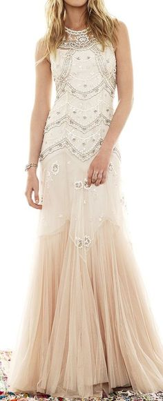 Modern mermaid champagne tulle prom dresses with beaded bodice sparkle prom gowns long evening gown for teens