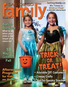October 2014 cover photo for San Diego Family
