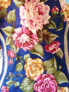 Your place to buy and sell all things handmade Vintage Scarf, Silk Flowers, Florals, Vintage Items, Scarves, Roses, This Or That Questions, Awesome, Pictures