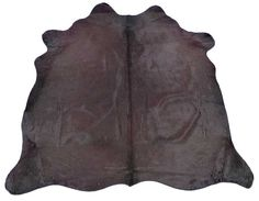 C-962 New Brazilian Purple Cowhide Rug. Laser by Cowhidesusa