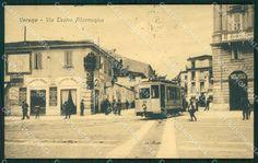Verona Città - il tram all'inizio di via Roma - cartolina QT4526