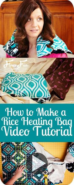 Sewing Gifts For Men I love this idea! Will someone puh-lease make this for me? - I love this idea! Will someone puh-lease make this for me? Easy Sewing Projects, Sewing Tutorials, Sewing Crafts, Sewing Hacks, Fleece Projects, Sewing Tips, Sewing Ideas, Diy Projects, Rice Heating Bags