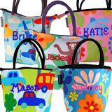 Mimi the Sardine Personalized Lunch Bags
