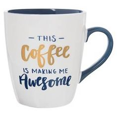 "Clay Art Jumbo Mug 27oz Porcelain - ""This coffee is making me awesome"" : Target"