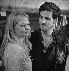 Emma and Hook are an amazing OUAT couple Emma Swan, Ouat, Captain Swan Kiss, Captain Hook, Colin O'donoghue, Once Upon A Time, The Way He Looks, Hook And Emma, Jennifer Morrison