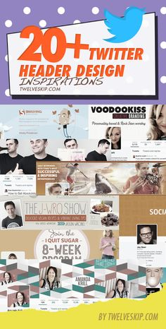 """Did you switch to the new Twitter profiles? """"20+ Creative Twitter Header Photos For Inspiration"""" http://www.twelveskip.com/showcase/sm-design/1284/twitter-header-photos-for-inspirations"""