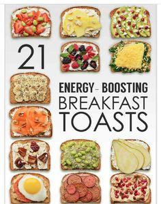21 Energy Boosting Breakfast Toasts!#Health&Fitness#Trusper#Tip