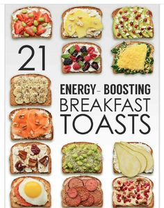 21 Energy Boosting Breakfast Toasts!#Health&Fitness#Trusper#Tip
