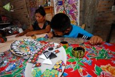 Papel amate, tradición de Guerrero