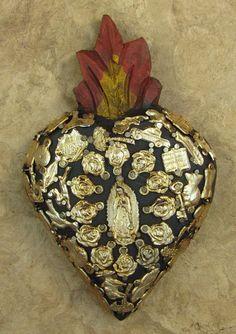 Corazón con milagros.  México