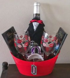 champagne bottle dress up idea handmade gifts diy gifts food gifts wine baskets