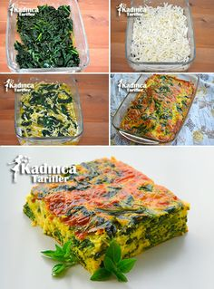Spinach Oven Omelet Recipe, How To . Spinach Oven Omelet Recipe, How To . Healthy Casserole Recipes, Vegetarian Recipes, Healthy Recipes, Omelette Recipe, Best Breakfast Recipes, Spinach Recipes, Turkish Recipes, Food And Drink, Vegetarian