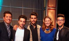 By Jim Masters #facebook On PBS CPTV - Connecticut Public Television interviewing Piero, Ignazio and Gianluca from the popular Italian operatic pop trio, Il Volo and co-hosting in-studio segments with good friend Lee Newton, in support of Il Volo's new PBS special, 'Il Volo: Live From Pompeii'. #thankyouforsharing #PBS #Memories #ilvolo #ilvoloversdelmundo #ilvolomundialoficial