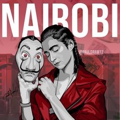 Nairobi, Netflix Home, Netflix Series, Tv Series, Easy Drawings, Art Drawings Sketches, Breaking Bad Poster, Pop Art Posters, Monster High Dolls