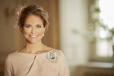"european royals on Twitter: ""New portrait of Princess Madeleine taken at Prince Oscar's christening has been released for her 34th birthday today"