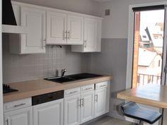 Avant apr s epurer et moderniser une petite cuisine des ann es 70 avant - Renover sa cuisine a petit prix ...