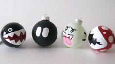 Mario Bros DIY ornaments!