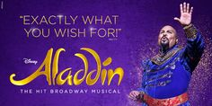 Disney ALADDIN on Broadway | The Hit Broadway Musical