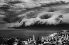 The Approach - Shelf cloud. Photography by Rebecca Ramaley