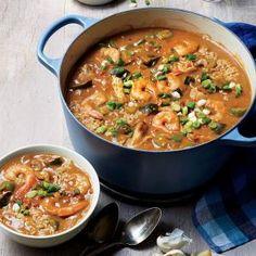 Shrimp and Chicken Gumbo | MyRecipes.com