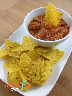 Having a Thermomix means we can make our salsas and dips additive and preservative free. We enjoy this salsa with corn chips or served on nachos. If you like it with lots of heat I would definitely add a red chilli – but this is optional depending on how you like it. If you prefer …