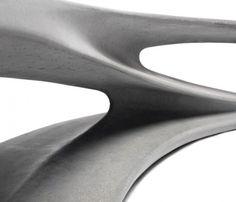 precious things | onsomething: Amanda Levete | Drift concrete bench...