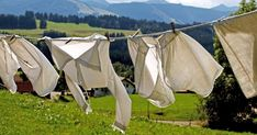 Truque para eliminar o encardido e manchas de suor de roupas brancas rapidamente Clothes Line, Washing Clothes, Homemade Cleaning Products, Cleaning Tips, Homestead Living, Natural Resources, Laundry Detergent, Good Old, Chemistry