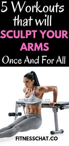 How to tone flabby arms- ultimate arm toning exercises for females. Best arm workout with weights that will sculpt your arms . Ultimate upper body workout for women for sexy toned arms. Back workout , shoulder workout plan for women Gym Workout Plan For Women, Upper Body Workout For Women, Free Workout Plans, Back Of Arm Exercises, Killer Arm Workouts, Dumbbell Exercises For Women, Arm Exercises With Weights, Tone Arms Workout, Arms And Back Workout At Home