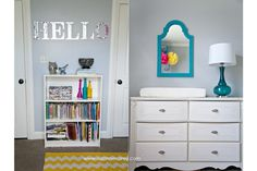 """Baby Carey"" Nursery – Chevron & Bright Colors » Suzanne Carey Photography"