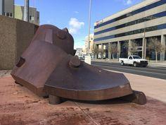 Sculpture in Albuquerque, New Mexico [Land & Art Road Trip | Part 5.38]