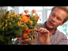 Easy Holiday Flower Arrangement | At Home With P. Allen Smith