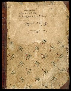 Mozart's Virtual Musical Diary -The composer's own notes, from 1784 until his death.