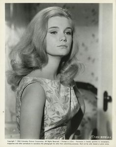 "Yvette Mimieux en ""Luz en la Ciudad"" (Light in the Piazza), 1962 Classic Actresses, Female Actresses, Hot Actresses, Sherry Jackson, Hollywood Cinema, Classic Hollywood, Old Hollywood, Beautiful Film, Beautiful Actresses"