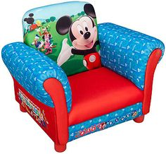 Disney Mickey Mouse Upholstered Chair - Tire Swing