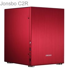 Jonsbo Red, HTPC ITX Mini computer case in aluminum, support HDD, Home theater computer, Others Home Theater Design, Computer Case, Hdd, Locker Storage, Mini, Stuff To Buy, Cases, Amazon Products, Towers