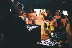 DJ Justin.  Photo by Kayla Schneider of Full Bloom Photography.