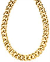 Signature Gold™ Curb Chain Necklace in 14k Gold