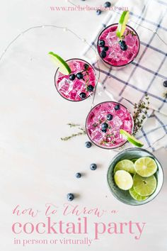 with 6 ingredients or less, you can make these easy and refreshingly delicious cocktails in your own home. It'll be the highlight of your next brunch or party! Cocktails Using Tequila, Refreshing Summer Cocktails, Cocktails For Parties, Vegan Recipes, Cooking Recipes, Pie Recipes, Cocktail Recipes, Drink Recipes, Dinner Recipes
