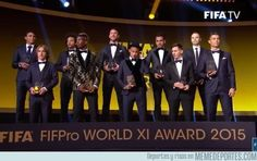 779956 - FIFA/FIFPro World XI 2015. Vaya equipazo