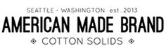 Fabric made completely in the USA! WHERE TO BUY | American Made Brand