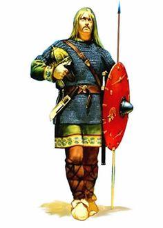 Vándalos, guerrero, s. V
