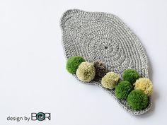 Mossy Oak - crochet coffee placemat pattern   DESIGNbyBORI, Budapest, Design Blog, DIY patterns