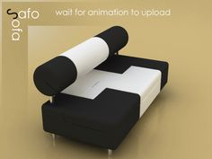 need more space to store your stuff?    Safo Sofa by Baita Design, via Behance